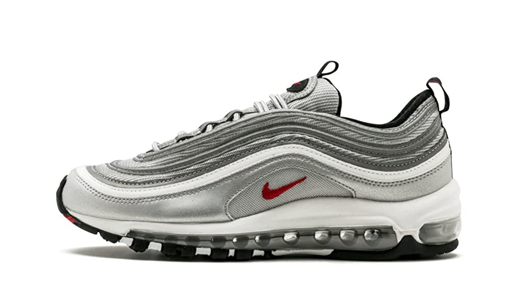 brand new 436f1 19047 Amazon.com   NIKE Womens W Air Max 97 OG QS Metallic Silver Leather    Basketball
