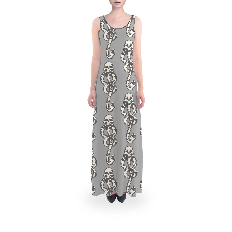 Queen of Cases Dark Mark Flared Maxi Dress