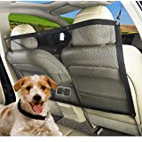 MARBOL Dog Car Carrier Pet Fence Anti-collision Adjustable Mesh Pet Auto Barrier Safety Isolation Net Pet Protection Keep In Back Seat