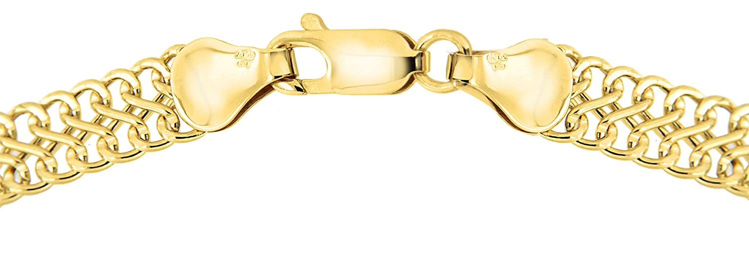 Carissima Gold 9 ct Yellow Gold Figure 8 Curb Bracelet of 19 cm/7.5 inch dOHyRPn