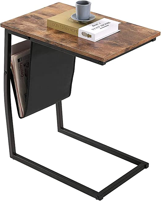 Side Table, BONZY HOME Sofa End Tables Living Room, Mobile Snack Table on french provincial kitchen table, mobile home remodeling ideas, cottage kitchen table, cabin kitchen table, apartment kitchen table, money on kitchen table, modular kitchen table,