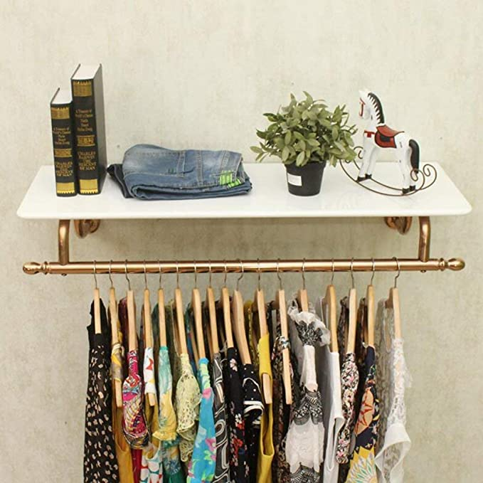 Amazon.com: PLLP Coat Racks Clothes Stand Stainless Steel ...