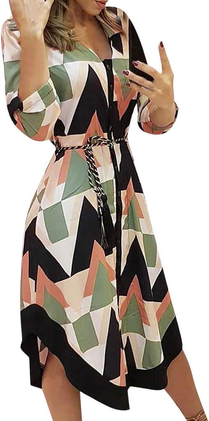 DAY9 Weihnachten Kleider Langarm Weihnachtskleid Vintage Hepburn ...
