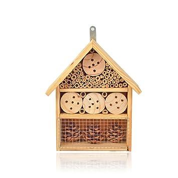 HSM Insektenhotel Insektenhaus Nistkasten Nisth/öhle Bienenhaus Holz 250x100x300 mm