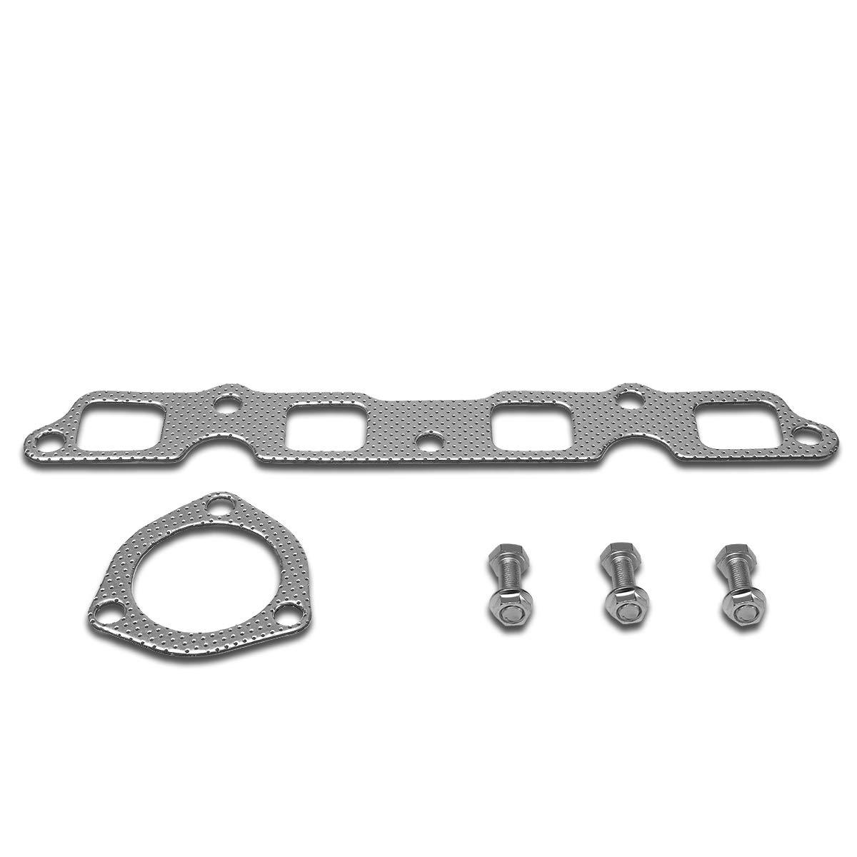 DNA Motoring GKTSET-TC7418L Aluminum Exhaust Manifold Header Gasket Set Replacement