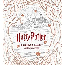 Harry Potter: A Cinematic Gallery: 80 Original Images to Color and Inspire