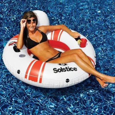 Super Chill Single Pool Tube by Swimline