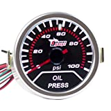 "ESUPPORT Car 2"" 52mm Oil Press Gauge Meter Pressure Automotive"