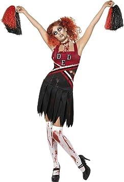 NET TOYS Traje de Animadora Zombie Disfraz día de los Muertos ...