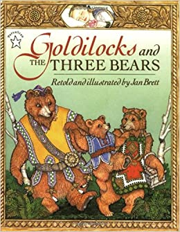goldylocks and the three bears adult