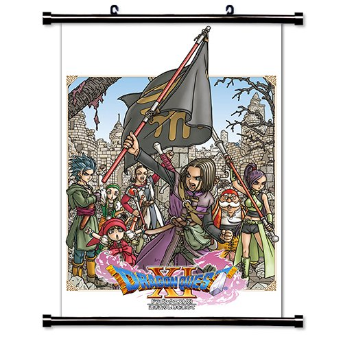 Dragon Quest XI Game Fabric Wall Scroll Poster (16x24) Inches [VG] DragonQuestXI-3 ()