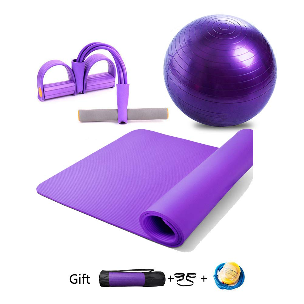 Essential Yoga Starter Set Kit 3pcs,183cm*80cm*1.0cm Yoga ...