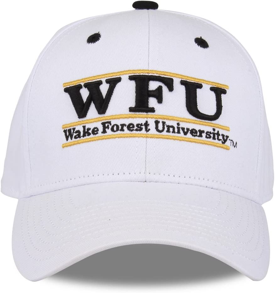 Wake Forest Demon Deacons Adult Game Bar Adjustable Hat - White,