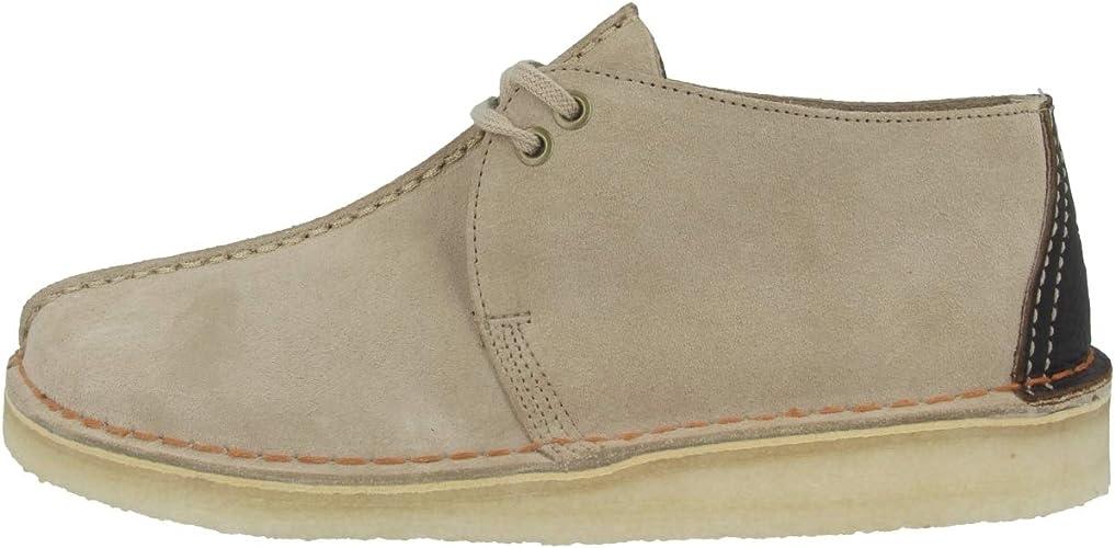 Clarks Schuhe Desert Trek Sand Suede