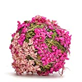 Byher Natural Decorative Moss Balls Wooden Theme for Garden Patio,Wedding,Party