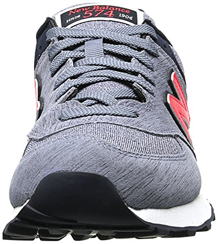 New Balance Wl574 B, Damen Sneakers Grau