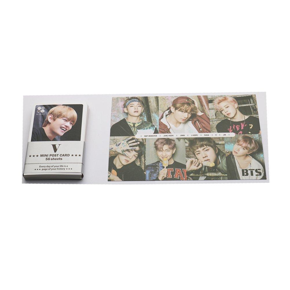 BTS KPOP V solo mini photo Cards set 59PCS BigHit Entertainment
