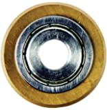 QEP 21125 QEP Tungsten-Carbide, Tile Cutter Replacement Wheel for Models 10630 and 10900, 7/8-Inch,  Titanium-Coated