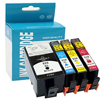 Amazon.com: Hehua Compatible HP 920 X L cartucho de tinta ...