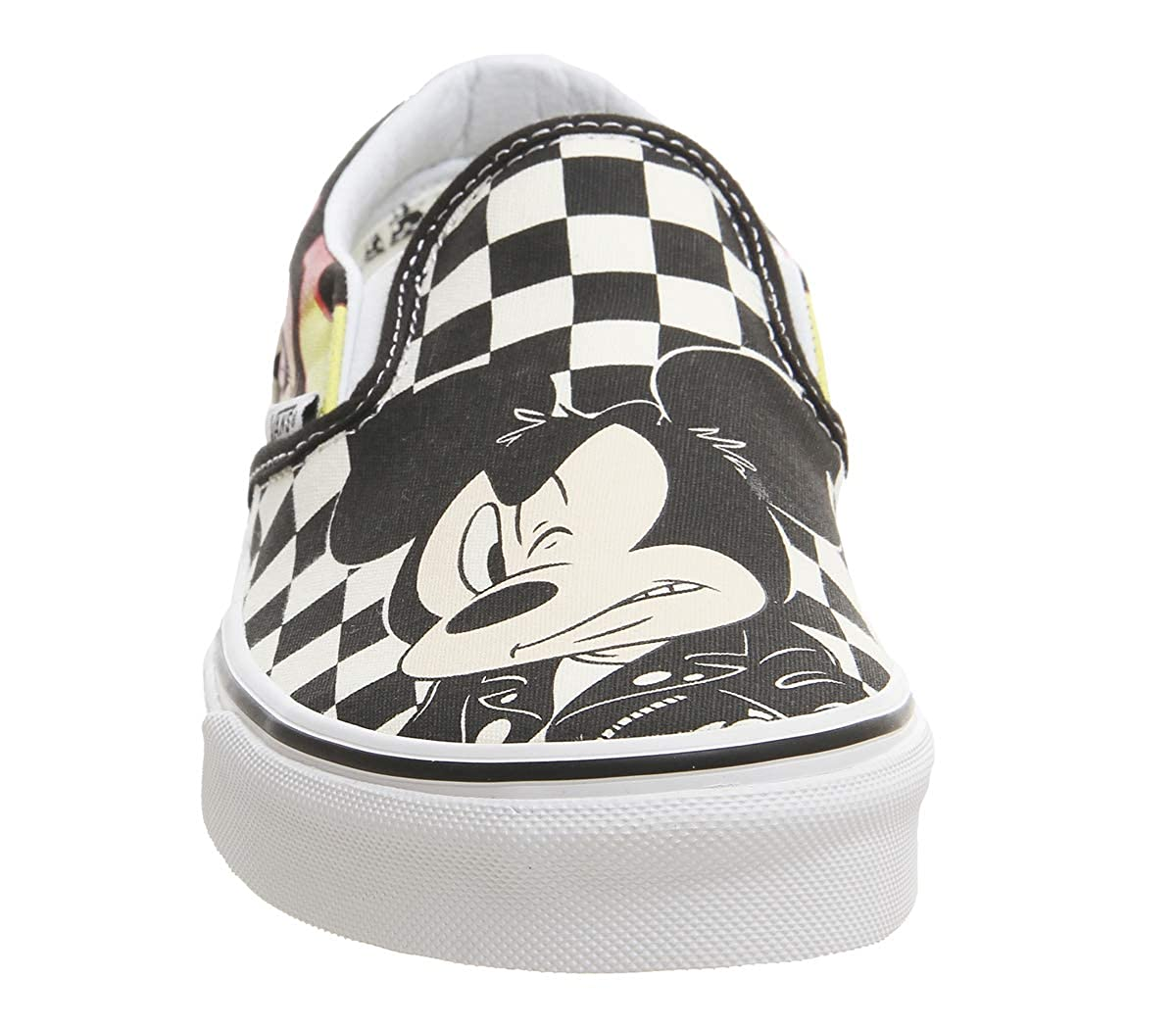 Vans Classic Slip On Mickey and Minnie Checker Flame Disney - 6 UK   Amazon.co.uk  Shoes   Bags cf214f069