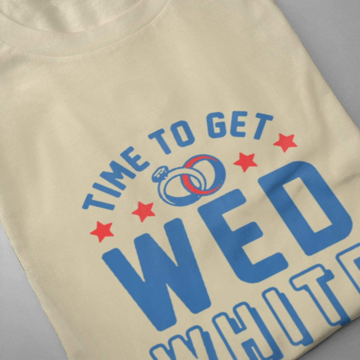 Seuriamin Time to Get Wed White /& Boozed Mens Basic Athletic Short Sleeve T Shirt
