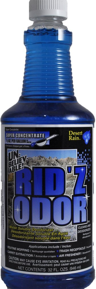 Unbelievable Rid'z Odor Super Concentrate, Desert Rain 32 oz. (Case of 2)