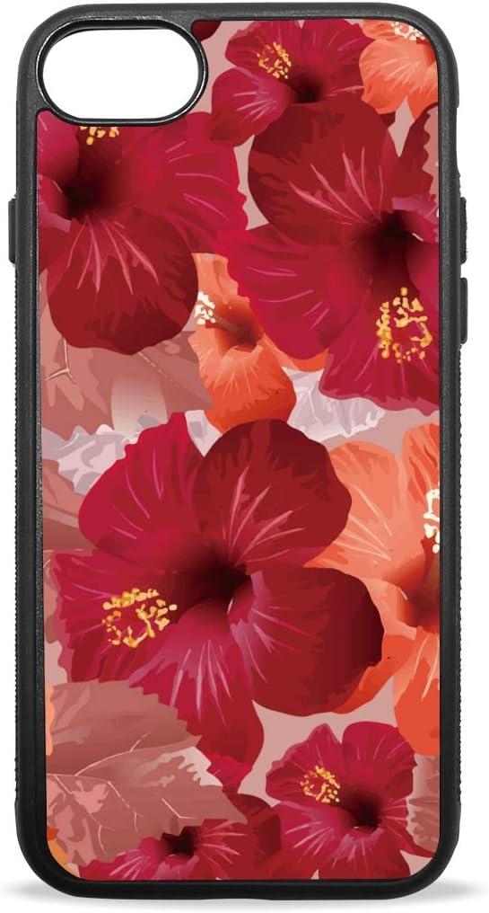 coque iphone 7 plus hibiscus