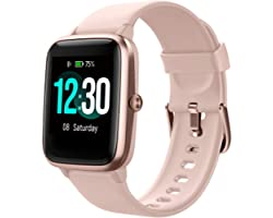 Fitpolo Smart Watch for Android Phones Compatible with iPhone IP68 Swimming Waterproof Smartwatch Fitness Tracker Fitness Wat