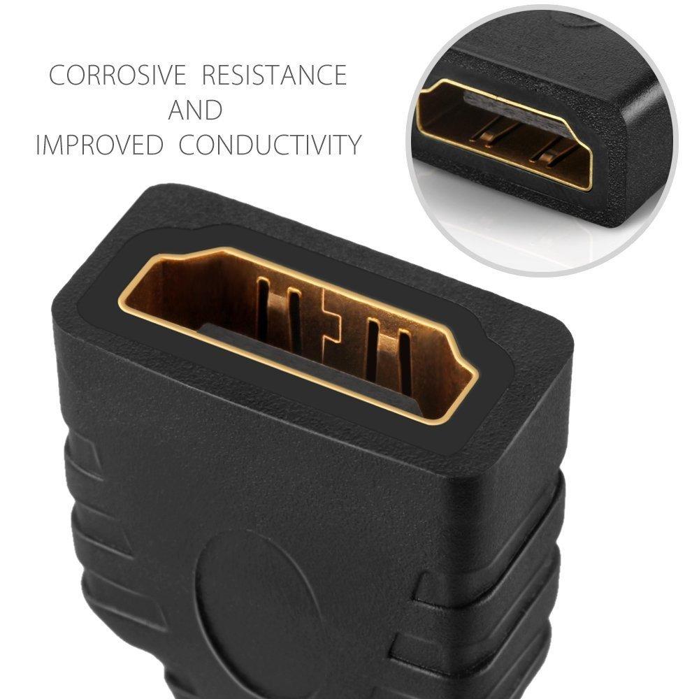 High Speed HDMI type D vers type A m/âle vers femelle M//F Port prise jack connecteur adaptateur convertisseur Prend en charge 4 K Ultra HD 4 K UHD 1080p daptateur micro HDMI vers HDMI