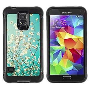Paccase / Suave TPU GEL Caso Carcasa de Protección Funda para - Sunshine Tree Sunny Summer - Samsung Galaxy S5 SM-G900