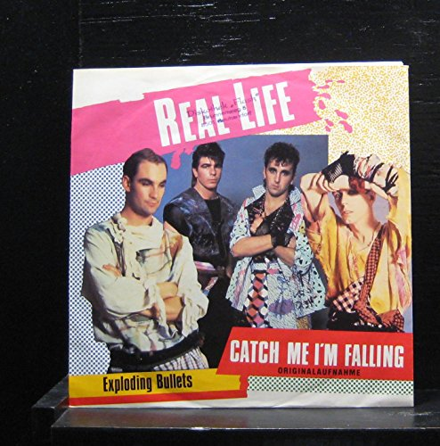 Real Life - Catch Me I'm Falling / Exploding Bullets - 7
