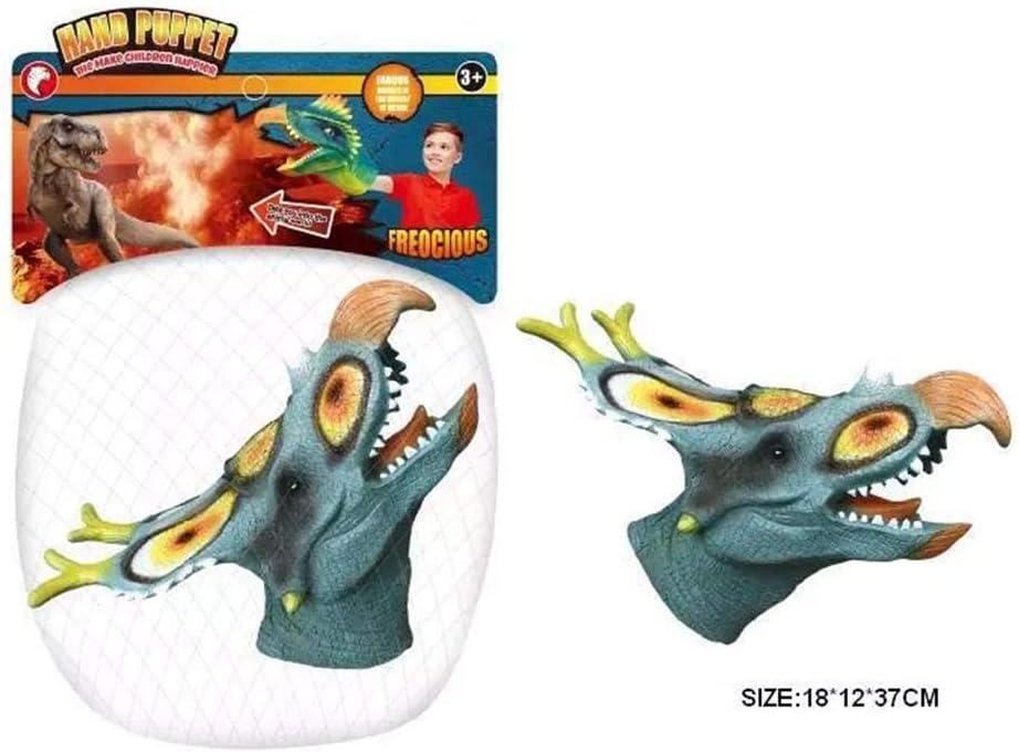 circulor 1 Pcs Marionetas De Mano Dino, 20.5 X 11.6 X 20.5 Cm Serie Dinosaurio, Juguete Modelo De Garra De Dinosaurio - 9 Estilos