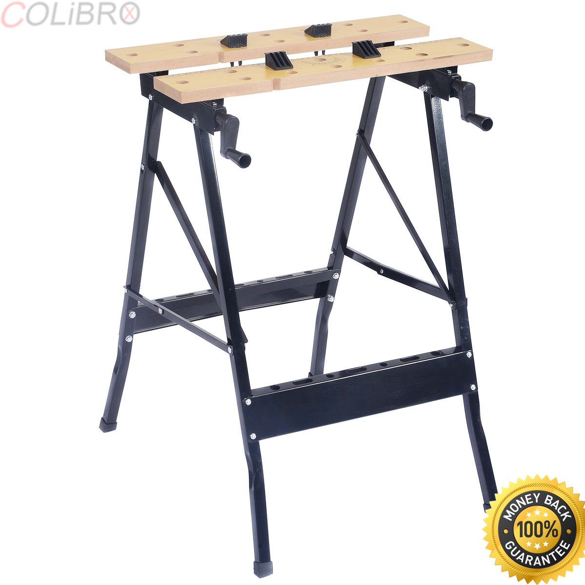 COLIBROX--Folding Portable Work Bench Table Tool Garage Repair Workshop 350lb Capacity. work table home depot. portable work tables. portable work table home depot. portable folding workbench amazon.