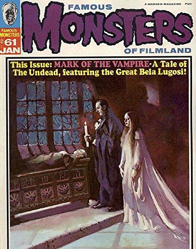 Famous Monsters of Filmland Magazine (1958 series) #61