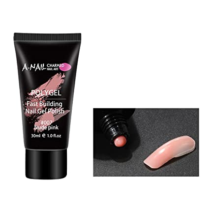 Abby - Gel de uñas para niñas con protección UV, sin dolor, con función. Pasa ...