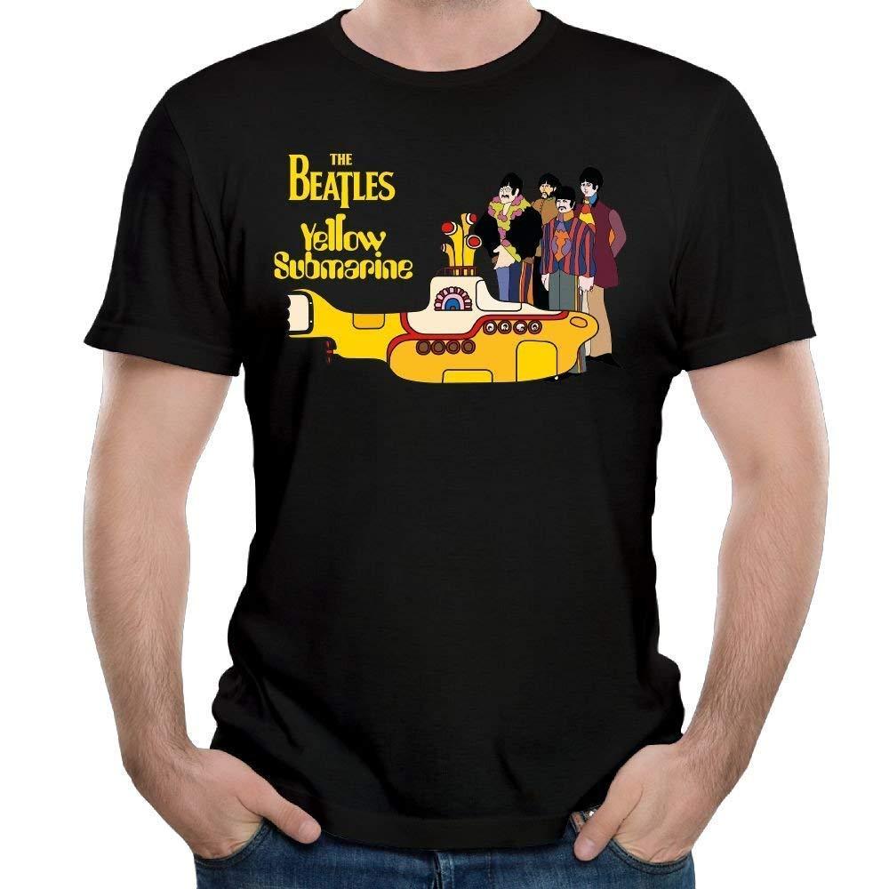 S Yellow Sub Generic T Shirt Short Sleeve The Beatles Tees
