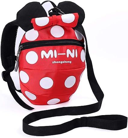 Mochila con arnés de seguridad para bebés y niños con correa de ...