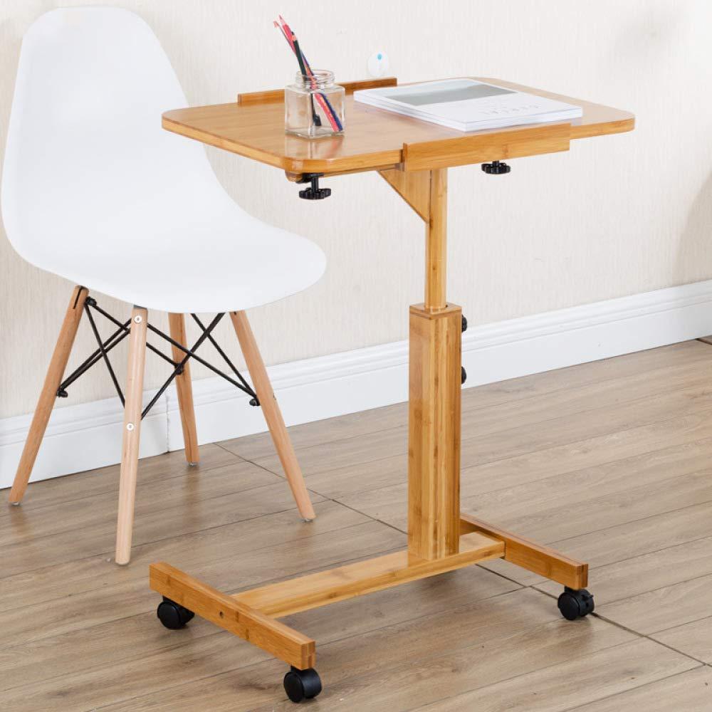 LIULIFE Adjustable Stand Deak Mobile Laptop Computer Desk Workstation Living Room Bedroom Bedside Table,5070cm by LIULIFE (Image #2)