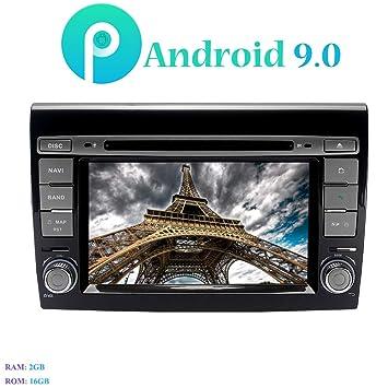 """Android 9.0 Autoradio, Hi-azul 7"""" Radio de Coche 4-Core Navegación"""