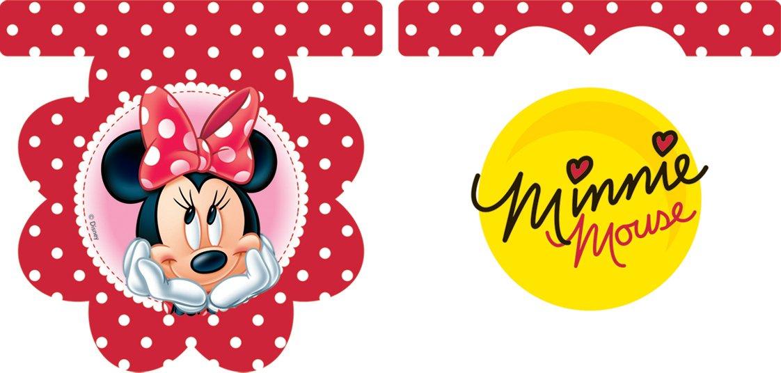 amscan Guirnalda de plástico Minnie Margarita™: Amazon.es: Hogar