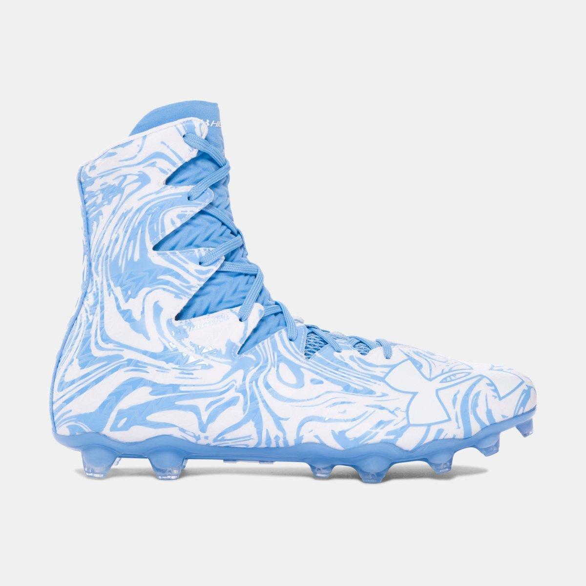 [アンダーアーマー] UNDER ARMOUR メンズ UA Highlight Lux MC Football Cleats [並行輸入品] B074WMVWPF 27.5 cm|Carolina Blue Carolina Blue 27.5 cm
