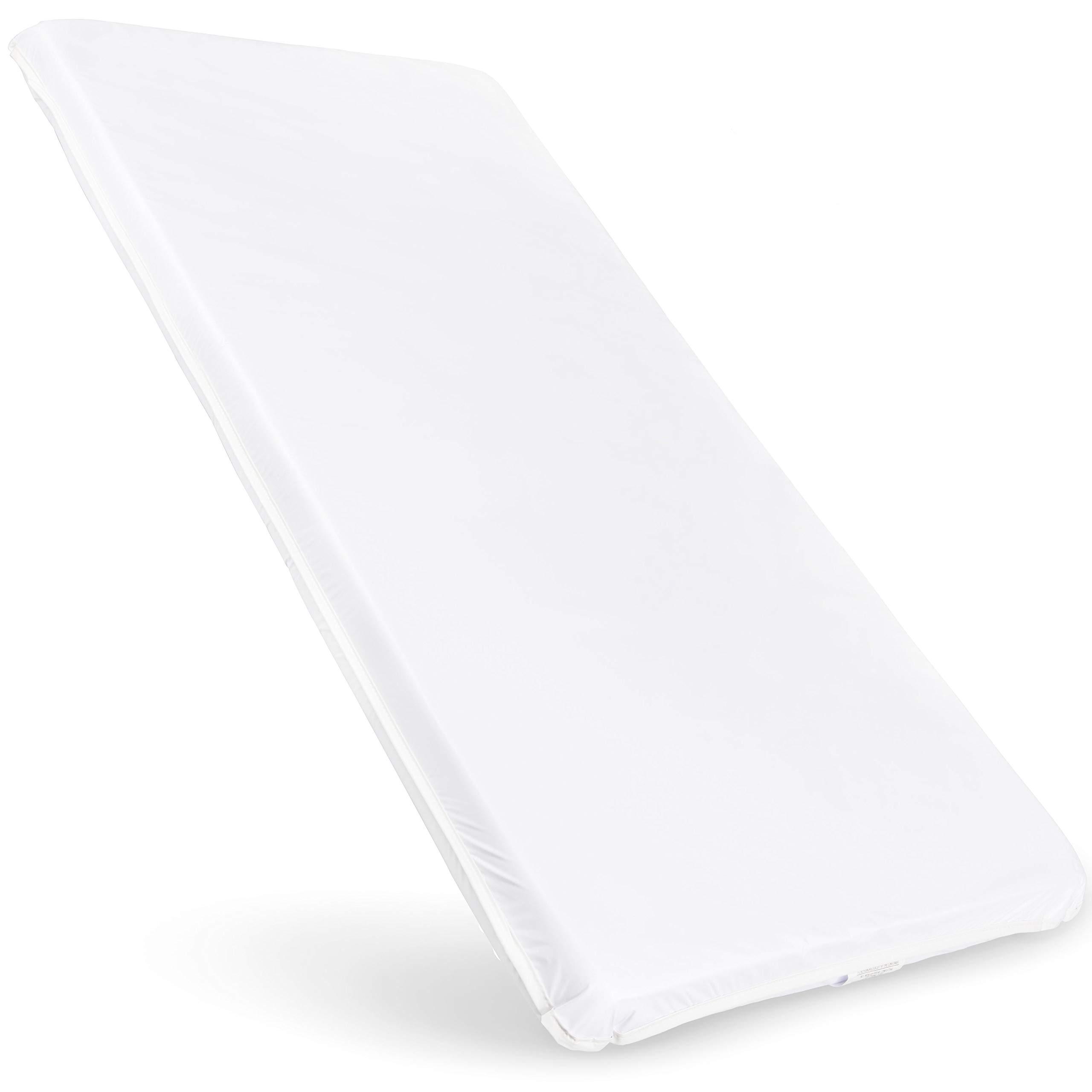 Custom Size Baby Crib Mattress Bed Pad: Firm Foam Bedding : Waterproof Vinyl Top by babykidsbargains