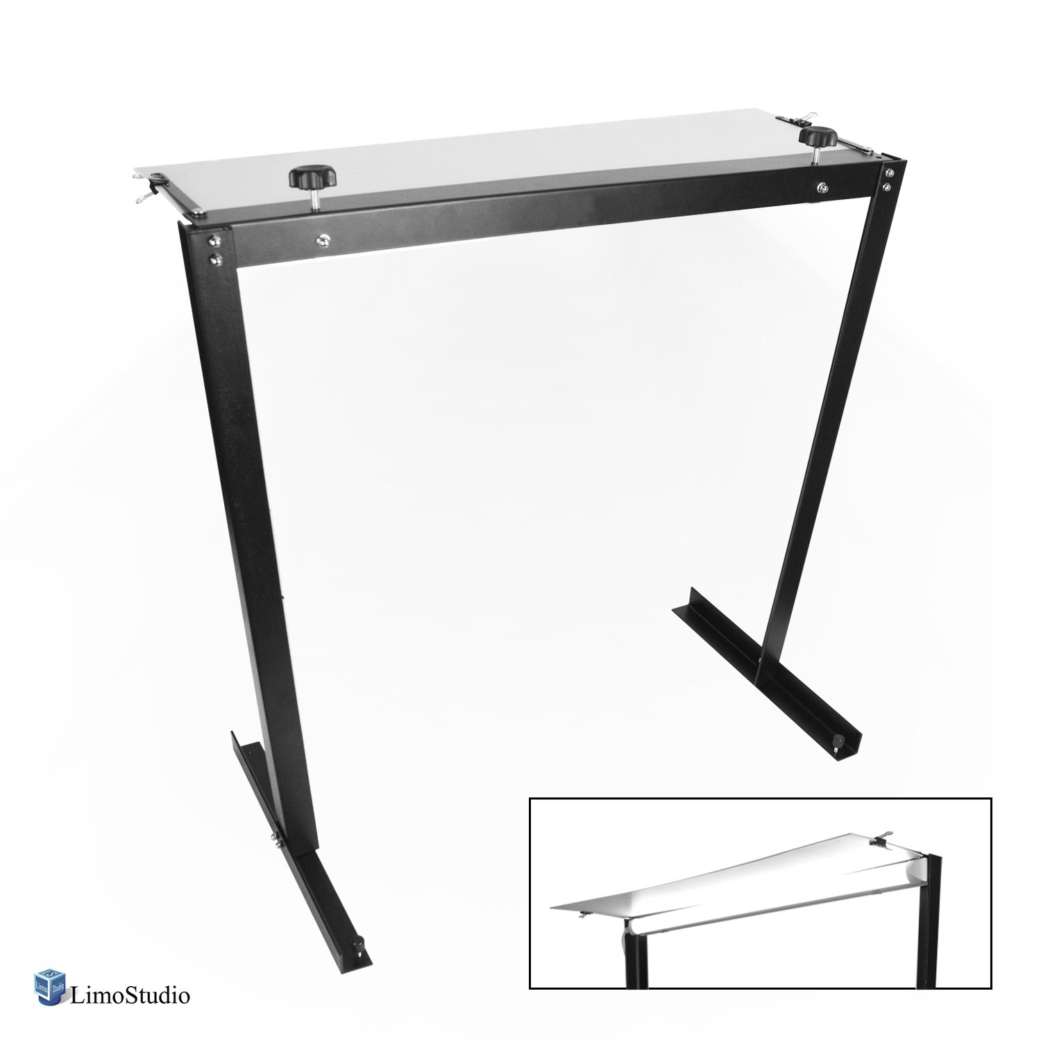 LimoStudio Photography Shooting Table Kit with Energy Saving LED Light for Commercial Product Photo Shoots, AGG2595