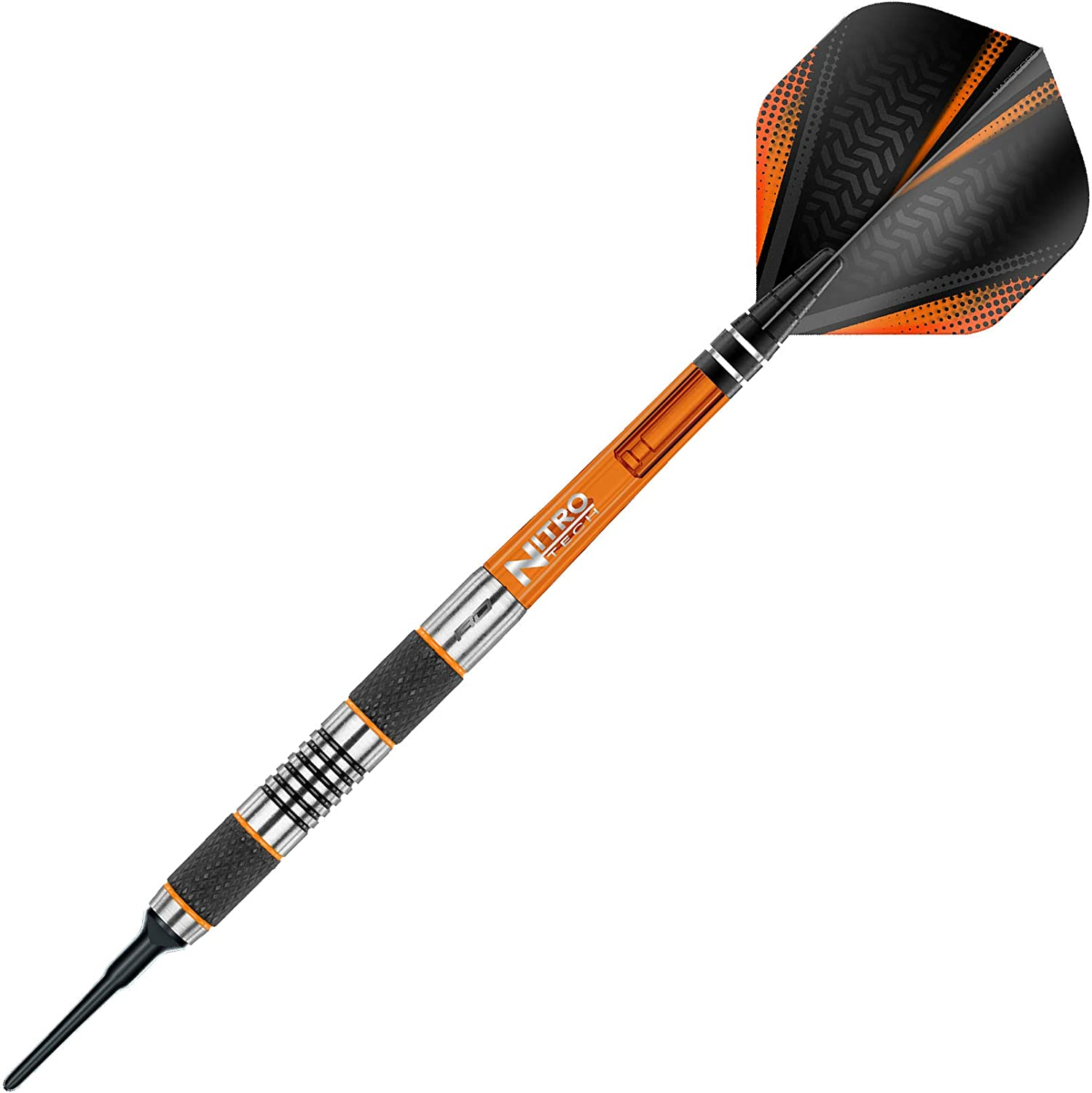 Tungsten Steel Soft Tip Darts Set with Flights and Stems 18g Red Dragon Amberjack Soft Tip
