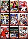 Cincinnati Reds 2015 Topps MLB Baseball Regular Issue Complete Mint 23 Card Team Set with Joey Votto, Jay Bruce Plus