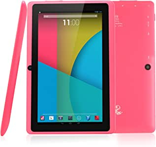 "Dragon Touch Y88X, 7"" Android Tablet, 8 GB, Pink (Y88X PK)"