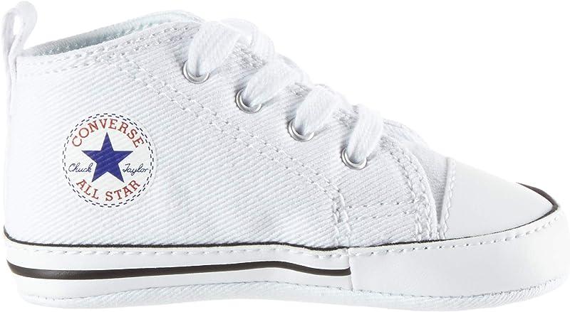 Converse Chucks Chuck Taylor First Star Sneakers Baby Mädchen Jungen Unisex Größe 17-20 Weiß
