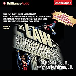 The Law of Superheroes Audiobook