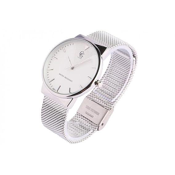 Reloj mujer plata malla Milanaise Orphée – Mujer