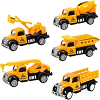 DESONG Conjunto de Cinco Mini Camiones de construcción